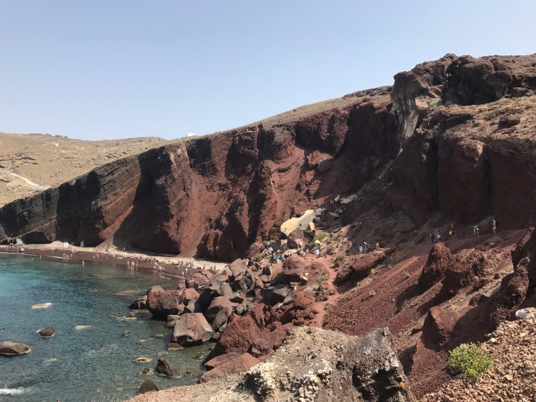 RED BEACH AKROTIRI